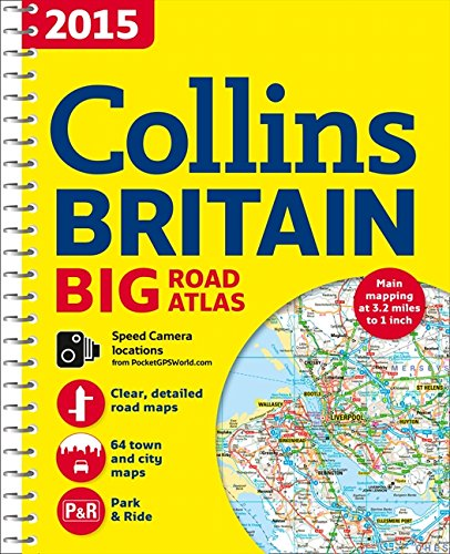 9780007555086: 2015 Collins Big Road Atlas Britain