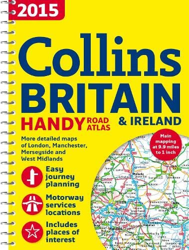 9780007555109: 2015 Collins Handy Road Atlas Britain (Collins Handy Road Atlas Britain & Ireland)