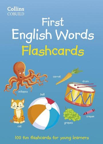 9780007558797: First English Words Flashcards (Collins First)