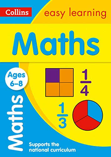 9780007559800: Maths Ages 6-8 (Collins Easy Learning Age 5-7)