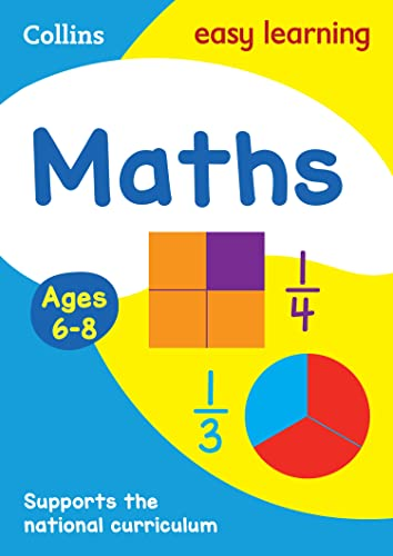 9780007559800: Maths Age 6-8 (Collins Easy Learning)