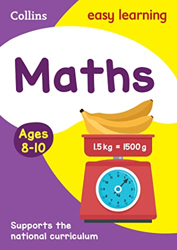 9780007559824: Maths Ages 8-10 (Collins Easy Learning Age 7-11)