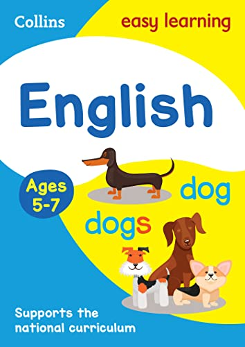 9780007559848: Collins Easy Learning English, Age 5-7