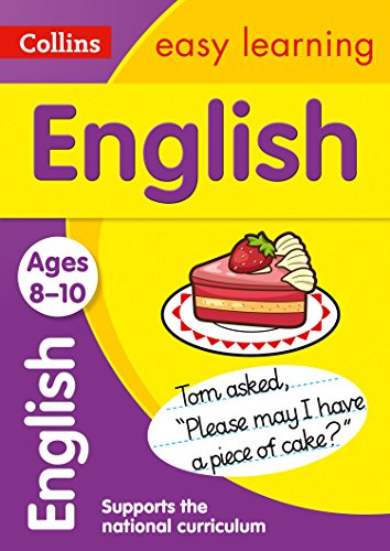 9780007559879: English Age 8-10 (Collins Easy Learning)