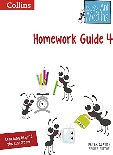 9780007562466: Busy Ant Maths - Homework Guide 4