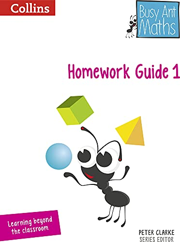 9780007568277: Busy Ant Maths — Year 1 Homework Guide