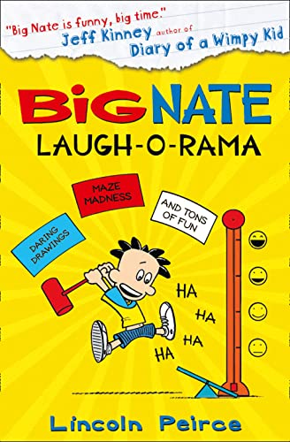 9780007569076: Big Nate: Laugh-O-Rama (Big Nate Activity Book 4)