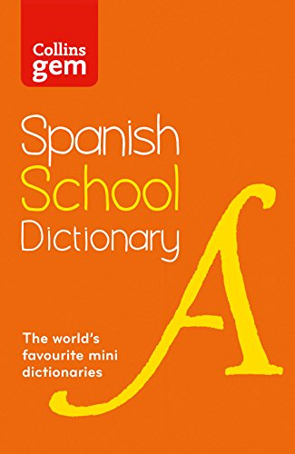 9780007569304: Collins School - Collins Gem Spanish School Dictionary