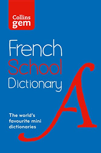 9780007569311: Collins School - Collins Gem French School Dictionary