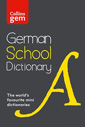9780007569328: Collins School - Collins Gem German School Dictionary