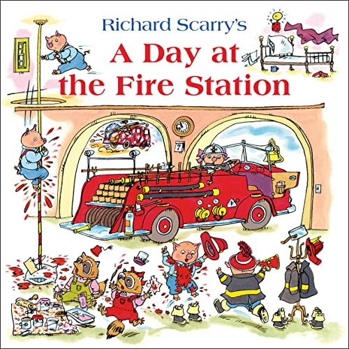 9780007574957: A Day at the Fire Station