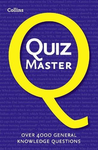 9780007578771: Collins Quiz Master
