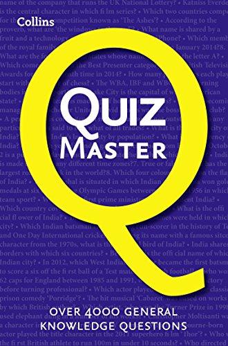 9780007578771: Collins Quiz Master (Quiz Books)
