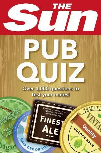 9780007580088: The Sun Pub Quiz