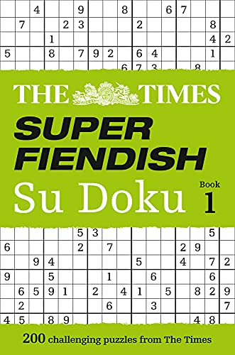 9780007580743: The Times Super Fiendish Su Doku Book 1