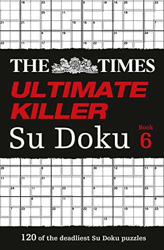 9780007580767: The Times Ultimate Killer Su Doku Book 6