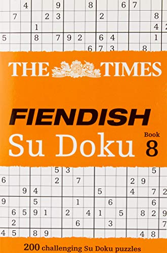 9780007580798: The Times Fiendish Su Doku Book 8