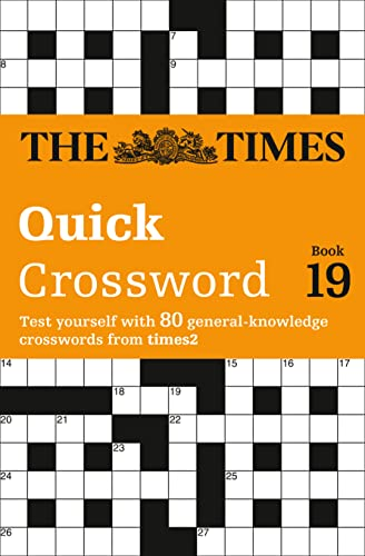9780007580804: The Times 2 Crossword Book 19
