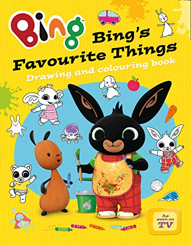 9780007581047: Bing's Favourite Things drawing and colouring book (Bing)