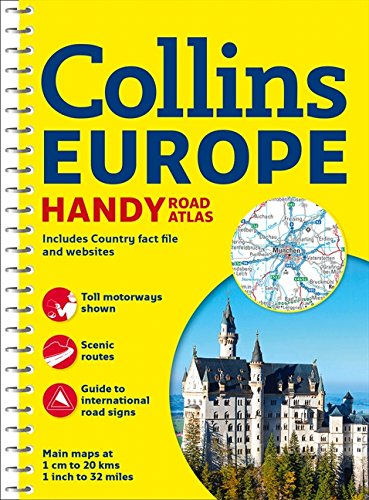 9780007581160: Collins Handy Road Atlas Europe (International Road Atlases)