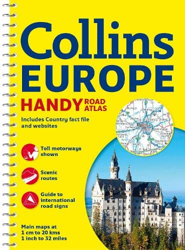 9780007581160: Collins Europe Handy Road Atlas (International Road Atlases)