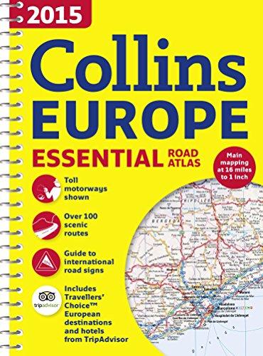 9780007581207: 2015 Collins Europe Essential Road Atlas (International Road Atlases)