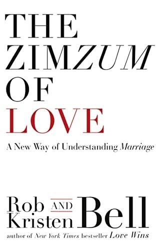 9780007582082: The ZimZum of Love