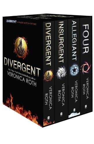 9780007588503: Divergent Series Box Set (Books 1-4 Plus World of Divergent)