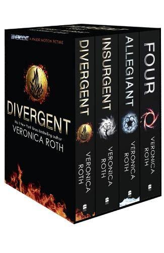 9780007588503: Divergent Series Box Set (books 1-4 plus World of Divergent)