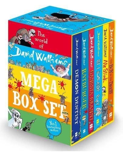 9780007589036: The World of David Walliams: Mega Box Set