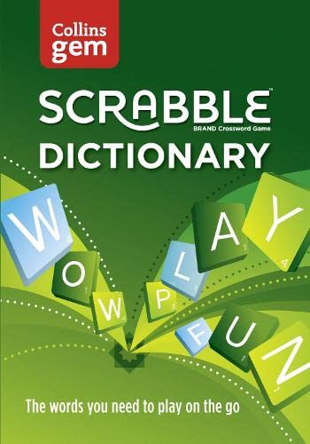 Collins Scrabble Dictionary Gem Edition: The Words: Collins Dictionaries