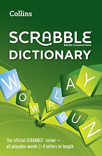 Collins Scrabble Dictionary: The Official Scrabble Solver: Collins Dictionaries