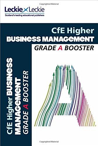 9780007590872: Grade Booster - CfE Higher Business Management Grade Booster