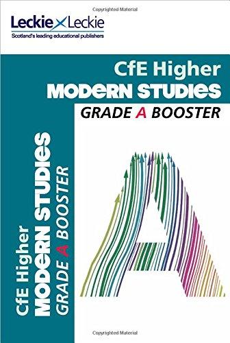 9780007590889: Grade Booster - CfE Higher Modern Studies Grade Booster