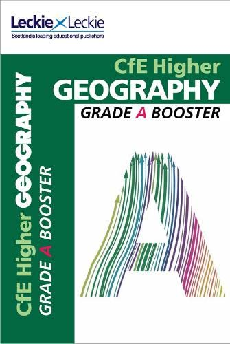 9780007590896: CfE Higher Geography Grade Booster (Grade Booster)