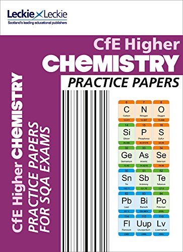 9780007590933: Practice Papers for SQA Exams - CfE Higher Chemistry Practice Papers for SQA Exams