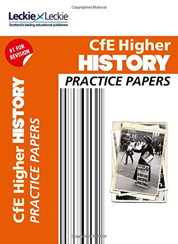 9780007590957: CfE Higher History Practice Papers for SQA Exams (Practice Papers for SQA Exams)