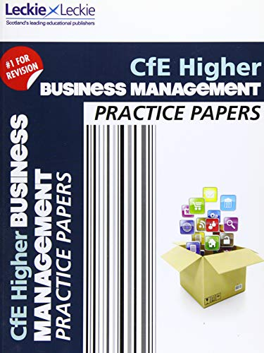 9780007590964: Cfe Higher Business Management Practice Papers for Sqa Exams