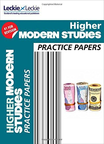 9780007590971: Practice Papers for Sqa Examscfe Higher Modern Studies Practice Papers for Sqa Exams