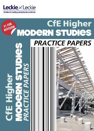 9780007590971: CFE Higher Modern Studies Practice Papers for SQA Exams