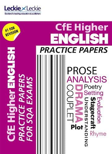 9780007590988: Practice Papers for SQA Exams - CfE Higher English Practice Papers for SQA Exams