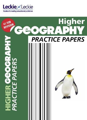 CfE Higher Geography Practice Papers for SQA Exams (Practice Papers for SQA Exams): Kenneth Taylor