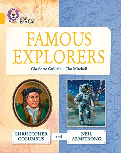 9780007591190: Collins Big Cat - Great Explorers: Christopher Columbus and Neil Armstrong: Gold/Band 09