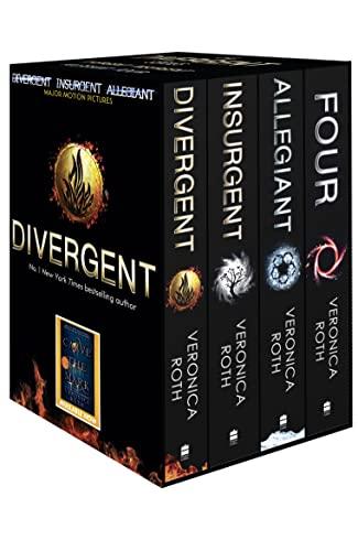 9780007591374: Divergent Series Box Set (books 1-4 plus World of Divergent)
