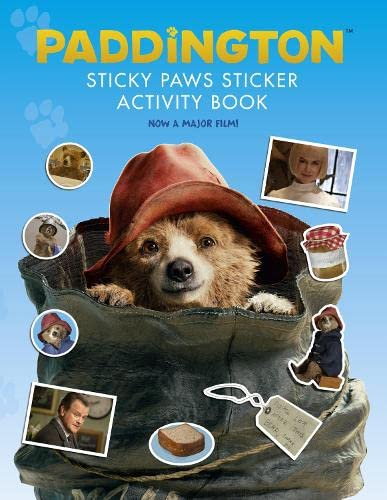 9780007592777: Paddington Movie - Paddington's Sticky Paws Sticker Collection