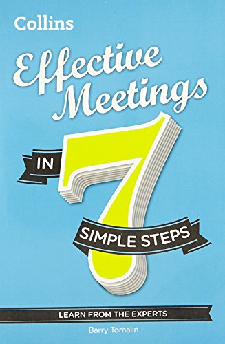 9780007596423: Effective Meetings in 7 Simple Steps: Learn from the Experts