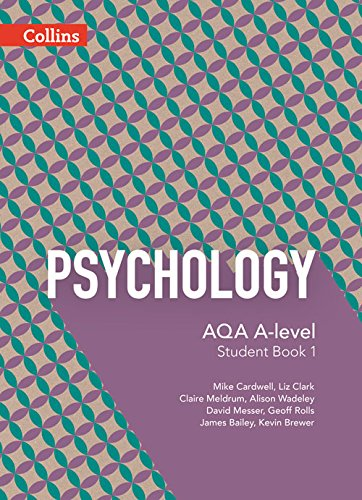 9780007597512: AQA A-Level Psychology — Student Book 1: 5th Edition