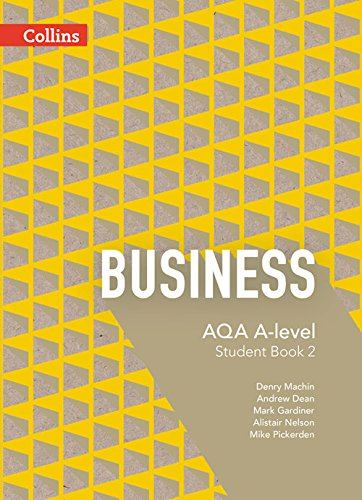 9780007597567: AQA A-level Business - Student Book 2