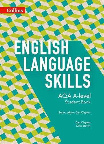 9780007597659: AQA A-level English - AQA A-level English Language Skills Student Book