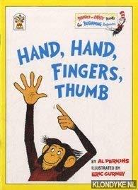 9780007610143: Hand, Hand, Fingers, Thumb